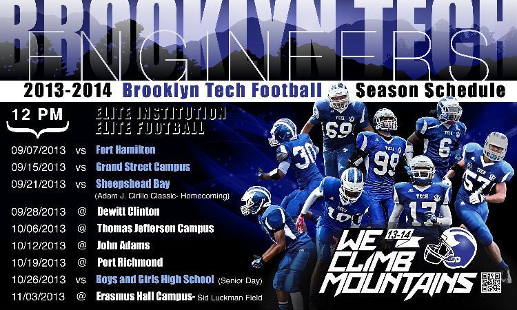2013 Schedule Banner