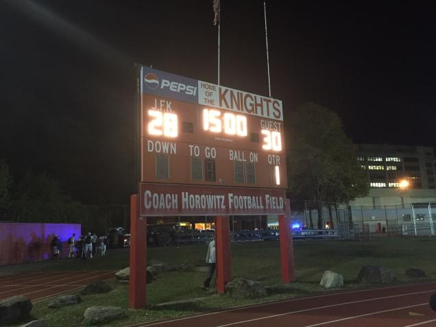 jfk scoreboard